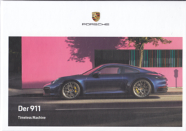 911 Carrera brochure, 112 pages, 09/2019, hard covers, German