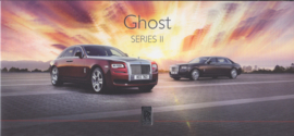 Ghost Series II brochure, 4 pages, about 2015, German language