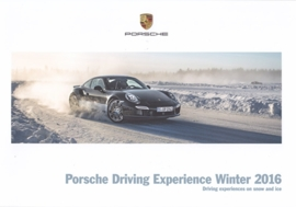 Driving Experience Winter 2016 brochure, 20 pages, 06/2015, English language