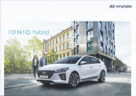 Ioniq Hybrid brochure, 16 pages, 10/2016, Dutch language