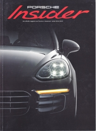 Porsche Insider, Winter 2014/2015, Dutch, 52 pages