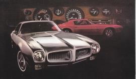 Firebird Hardtop Coupe, 1972, standard-size, USA