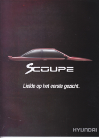Scoupe brochure, 16 pages, about 1988, Dutch language