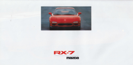 RX-7 Coupe with rotary engine brochure, 12 pages, 05/1992, German language