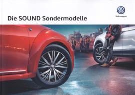 Program Sound Models brochure, A4-size, 54 pages, 01/2017, German language