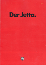 Jetta brochure, 28 pages,  A4-size, German language, 1/1982