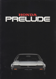 Prelude brochure, 16 pages, A4-size, Dutch, 02/1983