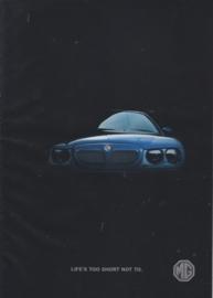 Program Rover/MG brochure, 12 pages, A4-size, 2002, Dutch language (Belgium)