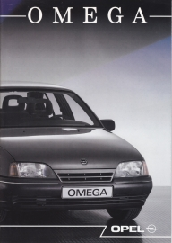 Omega brochure, 24 pages, 03/1989, Dutch language
