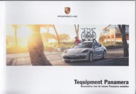 Panamera Tequipment brochure, 92 pages, 11/2016, Dutch