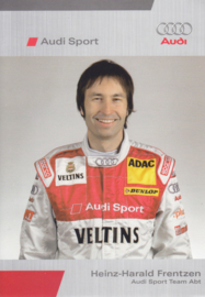 DTM racing driver Heinz Harald Frentzen, unsigned postcard 2006 season, German language