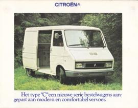 C32/C35 Vans brochure, 6 pages, 02/1974, Dutch language