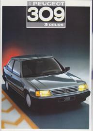 309 3-door brochure, 26 pages, A4-size, 1987, Dutch language