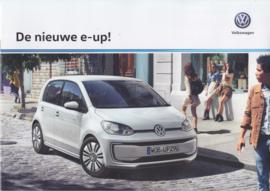e- up! brochure, A4-size, 16 pages, 10/2016, Dutch language