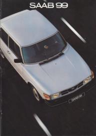 99 2-door brochure, 16 pages, 1981, Dutch language