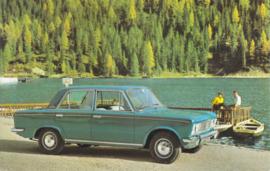 125 Berlina, standard size, Italian postcard, undated, unused, about 1965