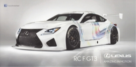 RC F GT3, 21 x10,5 cm, Swiss postcard, about 2015
