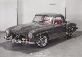 190 SL Coupe, continental size postcard, Bildermeister, 03/2014