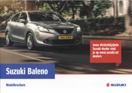 Baleno brochure, 28 pages, #70516, 2016, Dutch language