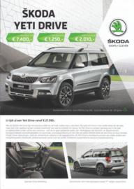 Yeti Drive brochure, 6 pages, Dutch language, 01/2017