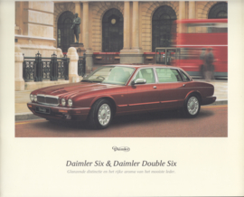 Six & Double Six brochure, 28 large square size pages, 02-97, Dutch language