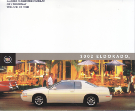 Eldorado folder, 4 pages, 2002, English language, USA