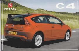 Citroën C4, sticker, 10 x 15 cm