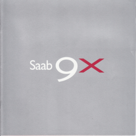 9X Concept brochure, 10 pages, 08/2001, Swedish language