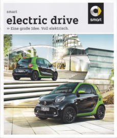 Fortwo & Forfour Electric drive brochure,  66 pages, 03/2017, German language