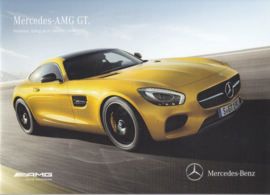 AMG GT Coupe price list brochure. 40 pages, 03/2015, German language