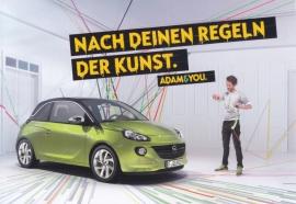 Adam, factory postcard, 2013, German