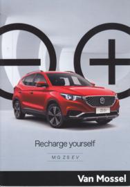 ZS EV brochure, 6 pages, A5-size, 2020, Dutch language