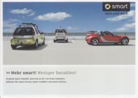 Program accessories,  6 pages, 4/2008, German language