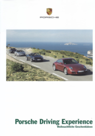 Driving Experience brochure, 4 pages, 10/2008, German language