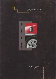 Mini 1000 Special & Mayfair brochure, 8 pages, Dutch language, # E0794A