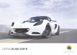 Elise Cup R, 2 page leaflet, DIN A4-size, factory-issued, English language