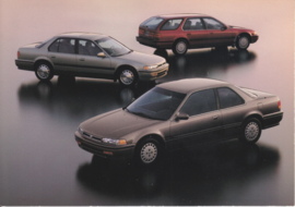 Accord program 3 models, US postcard, continental size, 1992, # ZO217