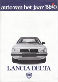 Delta 1300/1500 brochure, A4-size, 4 pages, 1980, Dutch language