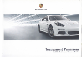 Panamera Tequipment brochure, 72 pages, 06/2013, German