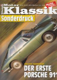 911 prototype 754 T7 test reprint, 10 pages, about 2002, German language
