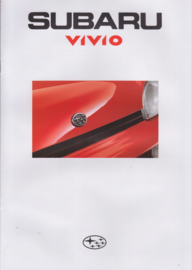Vivio brochure, 12 pages, Dutch language, 1992