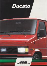 Ducato Vans & Pickups brochure, 8 pages, 06/1990, Italian language