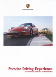 Driving Experience brochure, 4 pages, 10/2007, German language