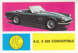 AC 428 Convertible, 4 languages, # 3