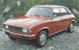 Allegro, Dutch standard size postcard, 1974