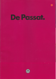 Passat brochure, 28 pages,  A4-size, Dutch language, 1/1983