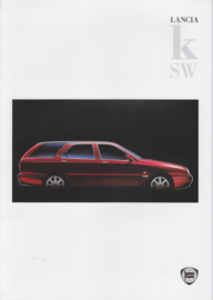 Kappa (K) SW Station Wagon brochure, A4-size, 8 pages, 08/1996, Dutch language