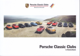 Porsche Clubs in Germany brochure, 52 pages, 02/2016, German