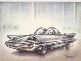 Lincoln Futura 1955, Full Speed, Dutch language, # 96