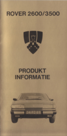 2600 & 3500 info brochure, 36 pages, 1/3rd A4-size, 1979, Dutch language